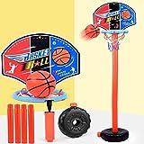 Pantalla de Baloncesto para niños Toy Padre-niño Interacción Can Láminas Láminas de Juguete de Tiro para niños Practicar Tiro de la Cesta de Juguetes, Juguete Educativo Boyuewenhuachuanboyo