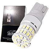 ぶーぶーマテリアル T10 LED 爆光 ホワイト 6000K 全8色 凄く明るい ポジションランプ 12V 無極性 定電流回路 T16互換 2個