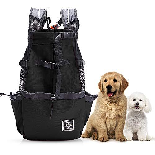Woolala Sac à dos léger pour chien de petite et moyenne taille, approuvé par les vétérinaires pour les voyages – Facile à transporter et économie de l