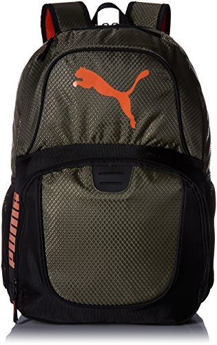 PUMA Men's Evercat Contender 3.0 Backpack, deep olive, One Size