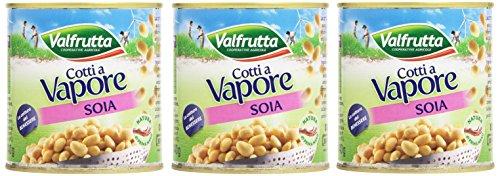 Valfrutta Monodose Soia, Sottovuoto - 3 x 150 gr - Totale: 450 gr
