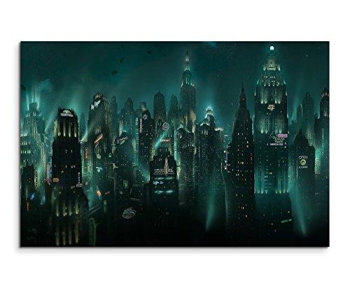 Bioshock Rapture Wandbild 120x80cm XXL Bilder und Kunstdrucke auf Leinwand