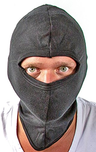 Storm-kap balaclava storm-masker ski-masker overvallen masker katoen extreme sport 1 gat masker gezichtskap