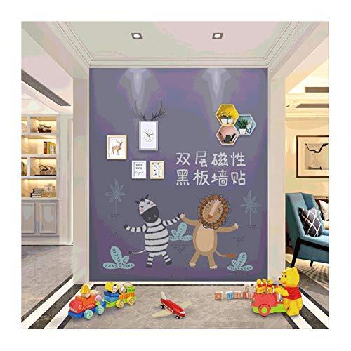 Tablero de Dibujo magnético de Doble Capa Pegatina de Pared autoadhesiva y Colgante magnético Tablero de Dibujo de Graffiti (Color : Pink D)
