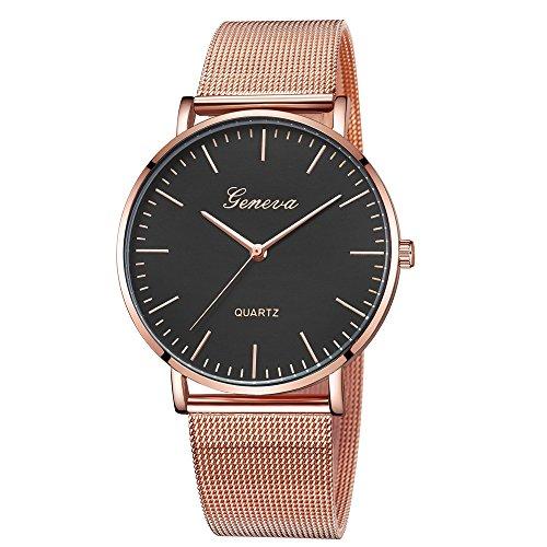Lurcardo Reloj Mujer Reloj Elegante Analogico para Mujer de Cuarzo con Correa en Acero Inoxidable, 13 Colors, Reloj Mujer Moda