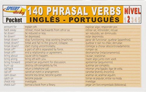 140 Phrasal Verbs - Inglês / Português - Nível 2 - Série Speedy Study Pocket