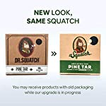 Dr. Squatch Pine Tar Soap 5-Pack Bundle – Mens Bar with Natural Woodsy Scent and Skin Exfoliating Scrub – Handmade with… 3