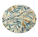 Tappeto Rotondo Tappeto di Moquette Creativo per Soggiorno Cuscino per Sedia da Comodino Decorazione (Dimensioni : Diameter 140cm)