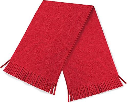 Beechfield Unisexe Supra toison Dolomie Garniture gland hiver chaude écharpe - Rouge classique