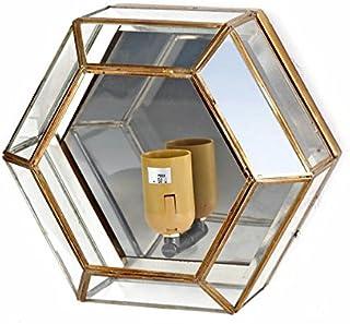 Plafon-Aplique Artesanal Granadino Modelo AL-ANDALUS 602 de 33x20cms.
