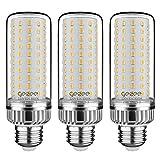 GEZEE 25W LED Corn Light Bulb, 200 Watt Equivalent, E26 LED Lamp 2500 Lumens 3000K Warm-White,Non-Dimmable,for Ceiling Fan,Flicker Free(Pack of 3)