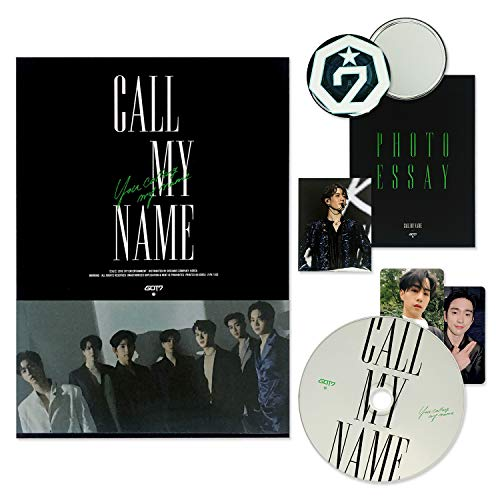 GOT7 Mini Album - CALL MY NAME [ C ver. ] CD + Photobook + Photocards + FREE GIFT