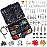 TOPFORT 187pcs Fishing Accessori...