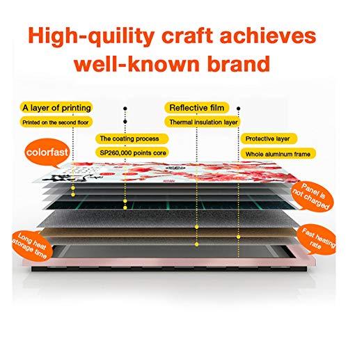 HL Infrarot Heizung Panel Gut Montiert Carbon Kristall Infrarot Heizung Bad Home Office Bild 4*