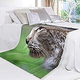 Immagine 2 lynx coperta in pile di
