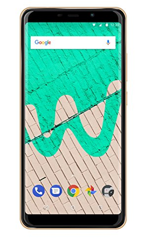 Wiko View Max Smartphone (15,2 cm (5,99 Zoll) Display, 32GB interner Speicher, Android 8.1 Oreo) gold