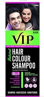VIP PLUS HAIR COLOR SHAMPOO BLACK