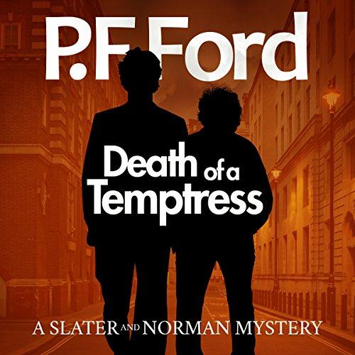 Death of a Temptress audiobook cover art