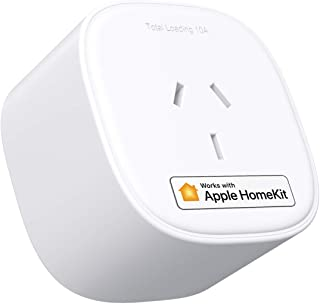 meross Smart Plug Works with HomeKit Siri, Amazon Alexa and Google Assistant, WiFi Outlet Support SmartThings, APP Remote ...
