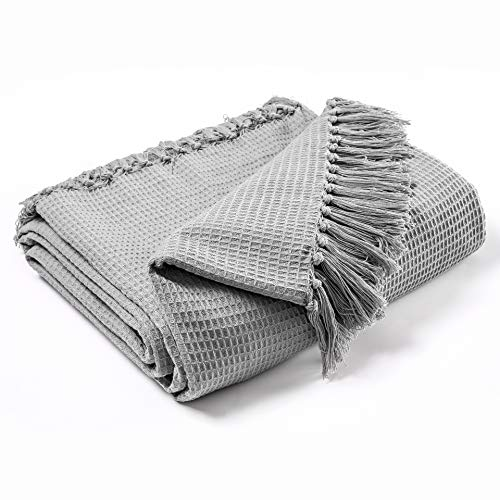 100% Baumwolle Woven Throw, großes 3-Sitzer-Sofa / Stuhl / Doppelbett 90