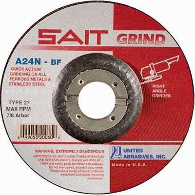 United Abrasives - Sait 20078 Depressed Center Wheel 6