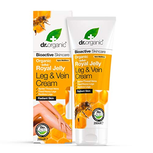 DR ORGANIC Royal Jelly Leg and Vein Cream, 0.242989 kg