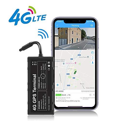Toptellite Localizador GPS 4G para Vehículo, Dispositivo de Tracker GPS para Automóviles Superior Compatible con Punto de Acceso WIFI / Corte Remoto de Aceite y Energía Ubicación y Monitoreo Precisos