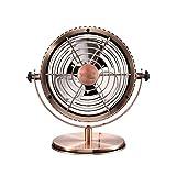 UNU_YAN La simplicidad moderna práctica del ventilador eléctrico, ventilador silencioso USB, mini ventilador de escritorio de oficina fans Retro.Ahorro de energía del ventilador for sala de estar Ofic