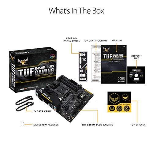 Build My PC, PC Builder, ASUS TUF B450M-PLUS GAMING