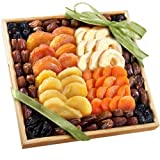 Golden State Fruit Mosaic Dried Fruit Tray Gift