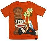 Paul Frank Little Boys' Tiki Time Tee (5) Orange