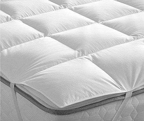 Bedding Heaven® Kaczki pióro i puch jeden rozmiar nakładka na materac - wykonana przez Fogarty
