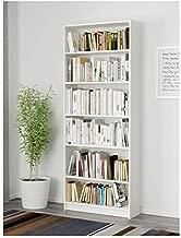 VIKI Bookcase/Bookshelf (6 Shelf, White) Bodhi