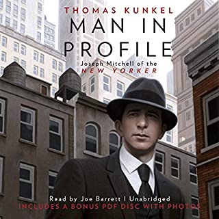Man in Profile audiobook cover art