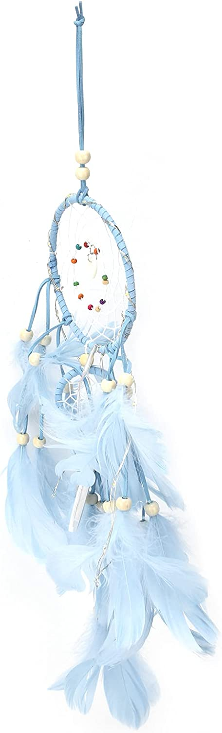 SALUTUY Dream Catcher Safety Max 55% OFF and trust Catchers Ornam Dreamcatcher Feather