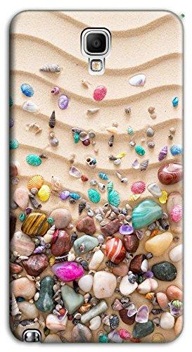mixroom Soft Silikon TPU Cover Handy Hülle für Samsung Galaxy Note 3III Neo N7505M3518Kieselsteinen von Meer Farbige
