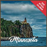 Calendar 2022 Minnesota: Minnesota Official 2022 Monthly Planner, Square Calendar with 19 Exclusive Minnesota Photoshoots from July 2021 to December 2022