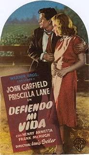 Dust Be My Destiny Movie Poster (27 x 40 Inches - 69cm x 102cm) (1939) Spanish -