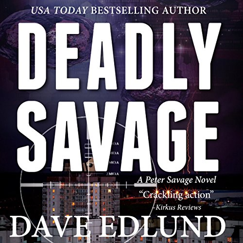 Deadly Savage audiobook cover art