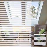 RMane Pellicola adesiva per finestra, pellicola statica per finestra, protezione dai raggi UV, per casa, bagno o ufficio (strisce, 60 x 200 cm)