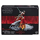 Star Wars – Edition Collector Black Series Centerpiece – Figurine Rey 15cm et socle électronique