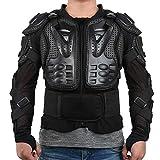 SJZJ Veste de moto Armor Motocross Racing Hommes Moto Veste Équitation Moto Protection Poitrine Protecteur Dos Protecteur Dirt Bike Racing Garde (XXL)