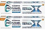 Sensodyne ProNamel, Clean Mint, Intensive Repair 3.4 Ounce (Pack of 2)
