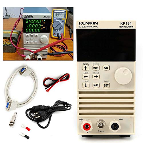 KP184 Single Channel Electronic DC load Tester Battery Capacity Tester RS485/232 150V 40A US Plug