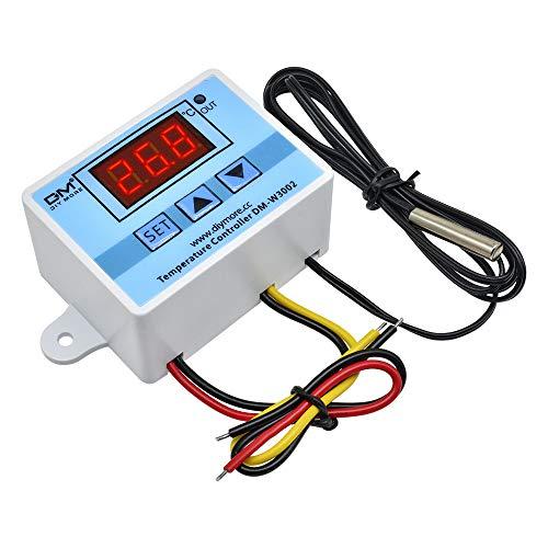 diymore Modulo Termostato Digitale AC 110 V-220 V Regolatore di Temperatura Digitale