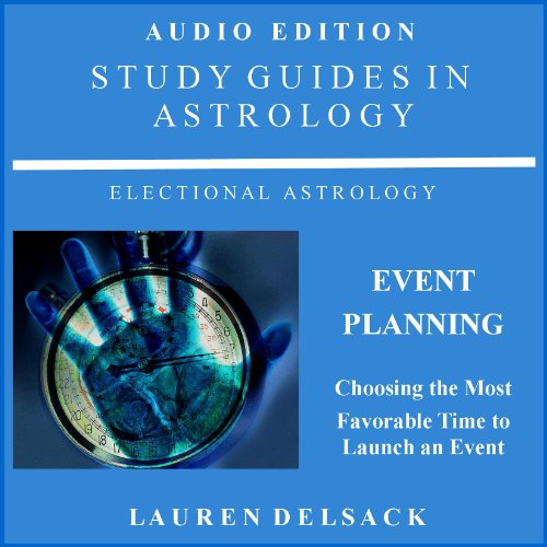 Study Guides in Astrology: Event Planning audiobook cover art