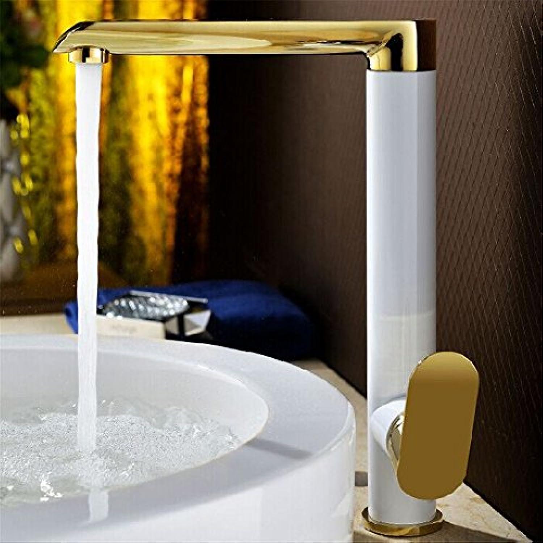 NewBorn Faucet Küche Oder Badezimmer Waschbecken Mischbatterie Einzigen Griff Leitungswasser Voll Kupfer Mischventil Wasser Waschen Schüssel Wanne Wasser 360° Drehbar B Tippen