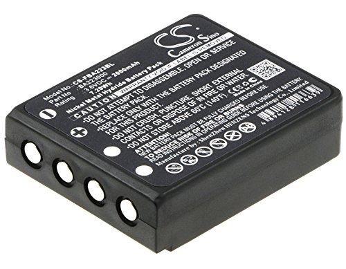CS-FBA223BL Batterie 2000mAh Compatible avec [HBC] Radiomatic Keynote, Radiomatic Linus 4, Radiomatic Micron 4, Radiomatic Micron 5, Radiomatic Micron 6, Radiomatic Micron 7, Radiomatic Patrol D, Rad