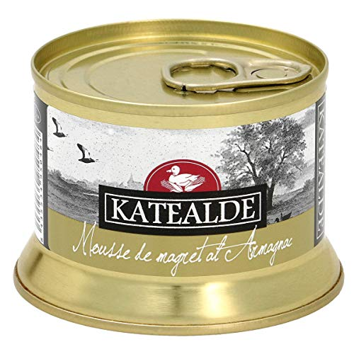 KATEALDE mousse de magret de pato al armagnac tarro 130 gr