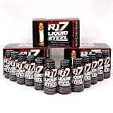 Ron Jeremy RJ7 Liquid Steel Men's Formula – Pre-Romance Liquid Shot to Boost Drive, Stamina and Firmness. Works in Under 30 Minutes. 36 Bottles 2 Ounces Each.